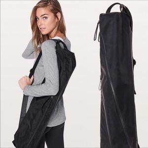 Lululemon Athletica Black Yoga Bag
